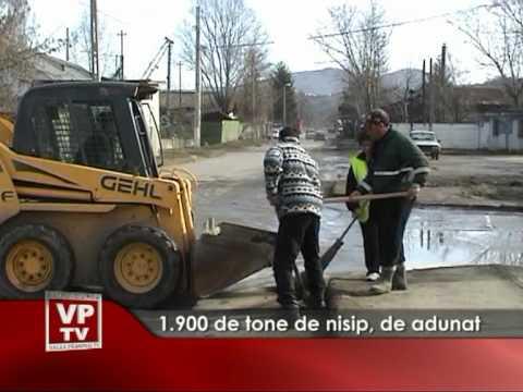 1.900 de tone de nisip, de adunat
