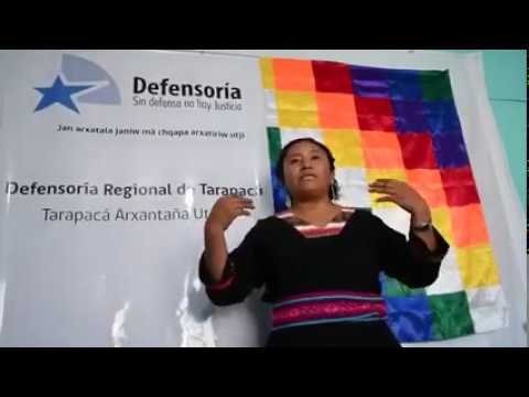 Defensoría llama a la comunidad Quechua a la tranquilidad, al cuidad e informa sus canales de atención