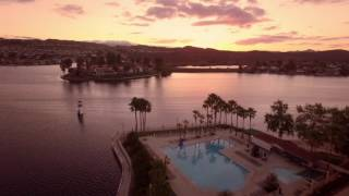 Canyon Lake (Ca) United States  city photos : Canyon Lake, CA Sunset from a Drone