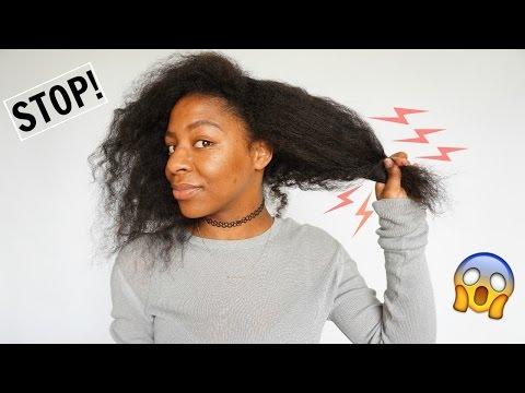 How To: STOP Hair Breakage//Hair Loss IMMEDIATELY   Natural Hair