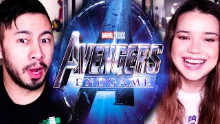 AVENGERS END GAME | Teaser Trailer Reaction