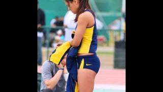Allison Stokke! the pole vaulter! at the request of public