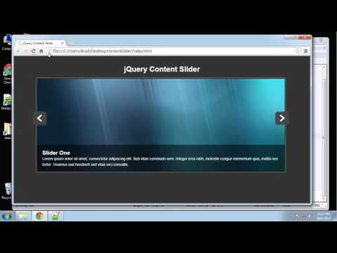 Learn jQuery by making a Content Slider - Part 4