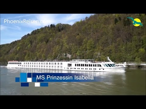 MS PRINZESSIN ISABELLA - Schiffsrundgang auf dem Donau Fluss Kreuzfahrtschiff von PHOENIX REISEN
