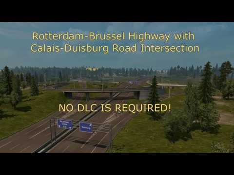 Rotterdam Brussel Highway/ Calais Duisburg Road Int. v1.1
