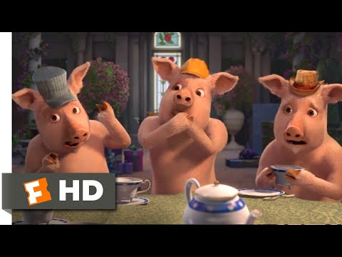 Shrek the Third (2007) - Three Little Squealers Scene (5/10) | Movieclips