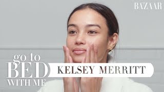 Video Victoria's Secret Model Kelsey Merritt's Nighttime Skincare Routine | Go To Bed With Me MP3, 3GP, MP4, WEBM, AVI, FLV April 2019