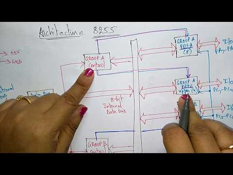 8255 programmable peripheral interface   Architecture   part 1/2