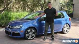 2012 Volkswagen Golf R Test Drive&Car Video Review