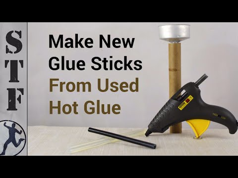 Download Make New Glue Sticks from Used Hot Glue HD Mp4 3GP Video and MP3