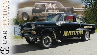 """Subscribe for more Carfection videos: http://bit.ly/1V1yFYXPete Gentile still has his drag racer """"Injecticide"""" from the '60s but his latest project is restoring the one that got away. A '55 Ford. Join the Carfection community...Like on Facebook: http://on.fb.me/1RvTdL4Follow on Twitter: http://bit.ly/1JUAgiI"""
