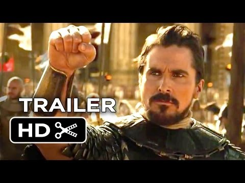Exodus: Gods and Kings Official Trailer #1 (2014) – Christian Bale, Ridley Scott Epic Movie HD
