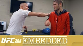 Video UFC 209 Embedded: Vlog Series - Episode 5 MP3, 3GP, MP4, WEBM, AVI, FLV Juli 2018