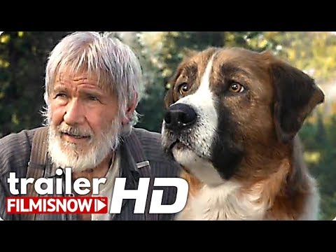 THE CALL OF THE WILD Trailer (2020) Harrison Ford Dog Movie