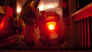 10. Kymco Grand Vista 250 with Kawasaki KLR 650 LED taillight