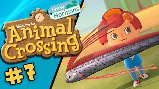 ANIMAL CROSSING: NEW HORIZONS | Coelacanth! #7