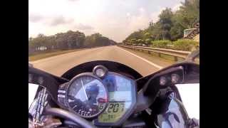 6. Yamaha R1 (2010 model) - 299km Top Speed