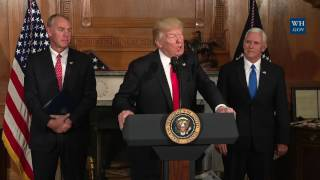 President Trump Gives Remarks and Signs the Antiquities Executive Order
