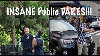 Video INSANE PUBLIC Dares | Asking Out A POLICE Officer in NYC (Canon G7x Giveaway) MP3, 3GP, MP4, WEBM, AVI, FLV September 2018