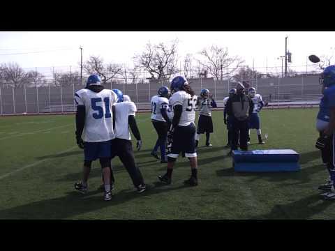 Brooklyn Blue Devils Practice, Randy. (видео)