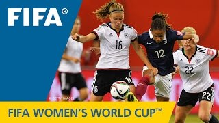 Video HIGHLIGHTS: Germany v. France - FIFA Women's World Cup 2015 MP3, 3GP, MP4, WEBM, AVI, FLV Juli 2018