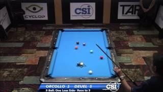 2014 CSI USBTC 9 Ball: Corey Deuel Vs Dennis Orcollo