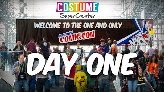 New York Comic Con 2015: Day One