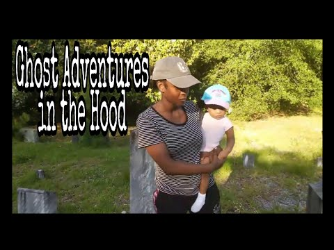Ghost Adventures in the Hood Confederate Graveyard from the 1800s