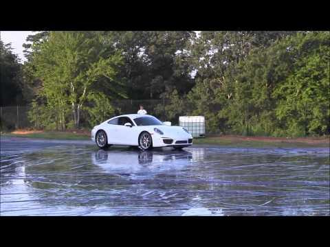 Porsche Stability Management (PSM) Demo