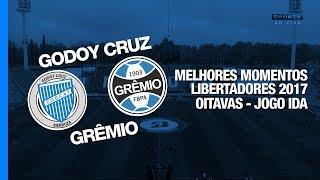 Siga - http://twitter.com/sovideoemhdCurta - http://facebook.com/sovideoemhdCONMEBOL LIBERTADORES BRIDGESTONE 2017Oitavas de Final - Jogo IdaEstádio Malvinas Argentinas, Mendoza, Argentina