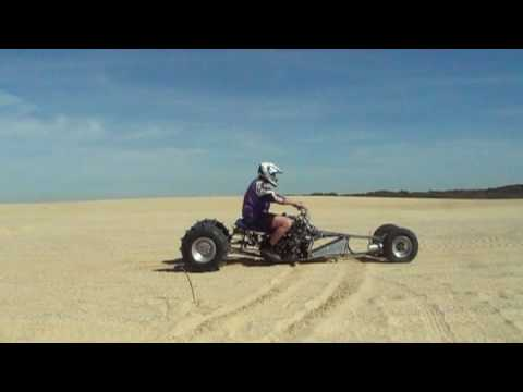 hayabusa turbo 300hp ridged quad