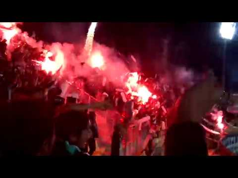 Salida Los Panzers, Copa Libertadores 2018 [Wanderers vs Melgar] - Los Panzers - Santiago Wanderers