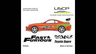Nonton USCP Tamiya: Toyota Supra The Fast and The Furious Transkit Unboxing Film Subtitle Indonesia Streaming Movie Download