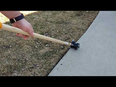 Hand Rotary Edger, Yard Work's. Viewer Request!!! (видео)