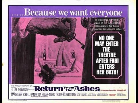 Возвращение из пепла (1965, Великобритания, США) триллер, драма, криминал