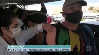 Cerca de 2 mil motoristas do transporte público serão imunizados em Sorocaba