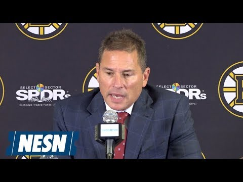 Video: Bruce Cassidy Bruins vs. Oilers October 11 Postgame Press Conference