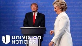 Donald Trump adelanta en las encuestas a Hillary Clinton por un punto porcentual