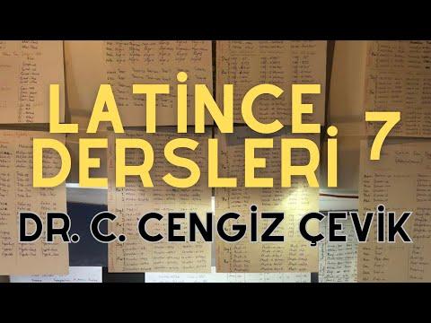 [7] Latince Dersleri (İkinci Çekim İsimler) - Dr. C. Cengiz Çevik