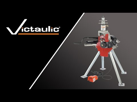 Victaulic VE416FSD Roll Grooving Tool Set Up and Operation Reference
