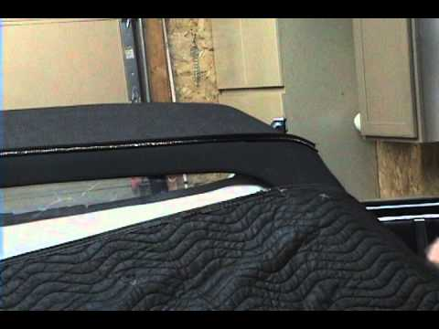GM Large Frame Convertible top Installation Video Sample, 1964-1965