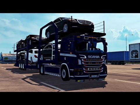 SCANIA P400 CAR TRANSPORTER