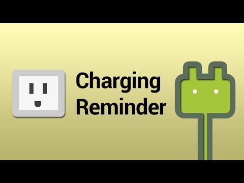 Video of Charging Reminder Pro