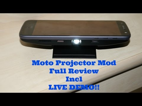 Moto Z Projector Mod - Full Review