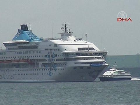 Круизный лайнер и российский танкер столкнулись у берегов Турции