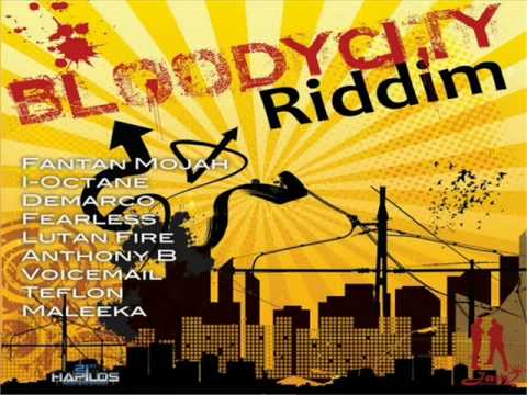 Bloody City Riddim Mix (march 2012) Jam2 Productions