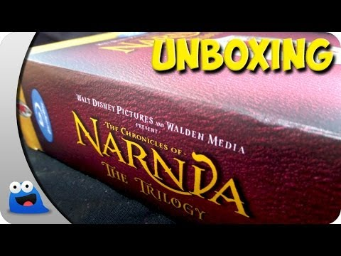 UNBOXING: The Chronicles of Narnia The Trilogy, 3 Movie Collection - @Thatguyjakey