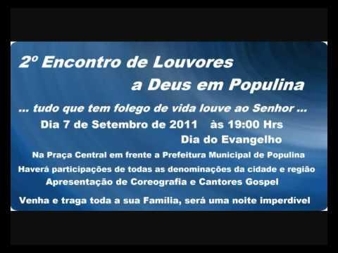 2º Encontro de louvores a Deus em Populina 7 de setembro 2011