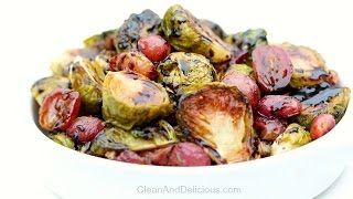 Roasted Brussels Sprouts and Grapes was a request from DimplesDeep1 (here ya go mama!) - This is the perfect side dish for your clean eating Thanksgiving ...