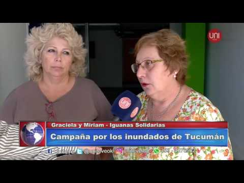 Camapaña por los inundados de Tucumán